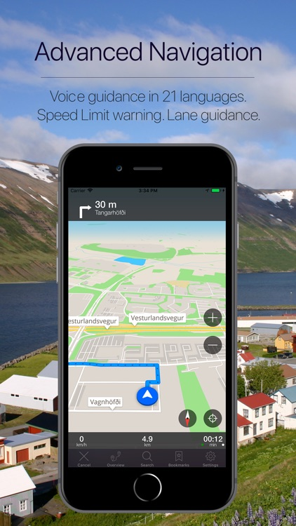 Iceland Offline Navigation screenshot-3