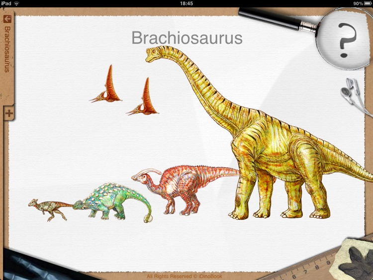Dinosaur Book HD: iDinobook screenshot-1