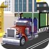 Logging Truck Driving