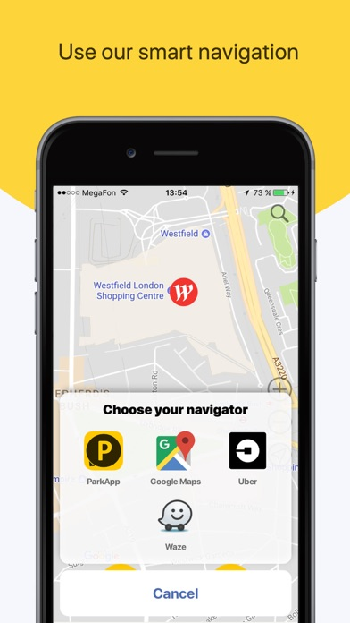 ParkApp parking screenshot three