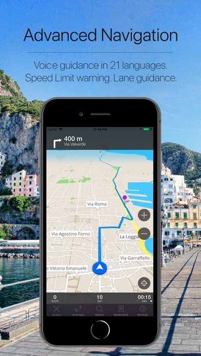 Screenshot for Sicily, Italy Navigation in Malaysia App Store