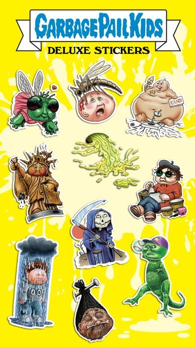 Garbage Pail Kids Deluxe Stickers Screenshot