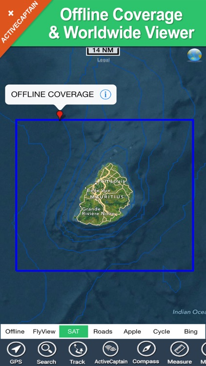 Boating Mauritius HD GPS Chart screenshot-4