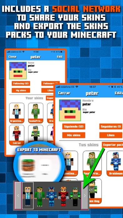 Skins AR for Minecraft screenshot four