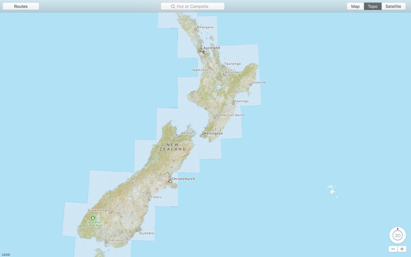 Topographic Map Of New Zealand.Nz Topo Maps App Price Drops