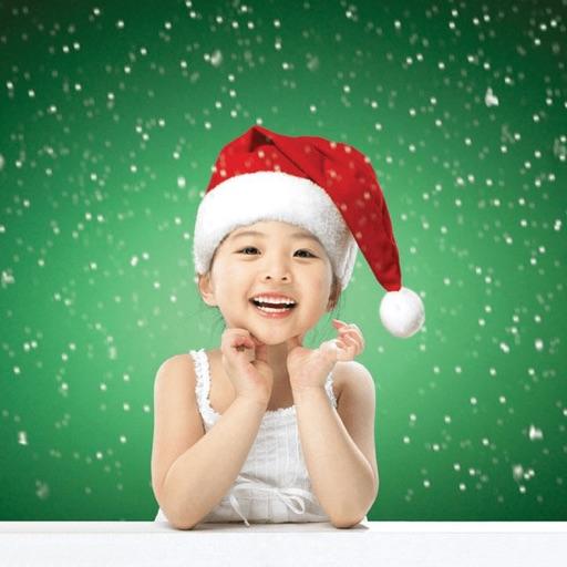 Christmas Sticker & Santa Hat