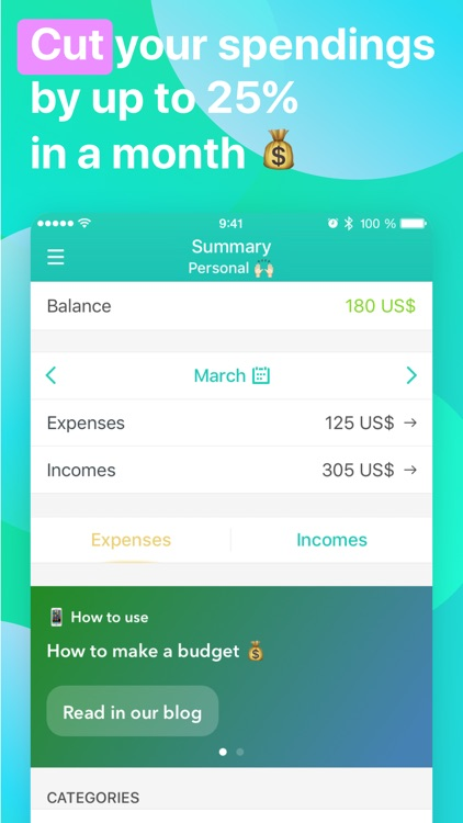 Moneon – My Budget and Expense