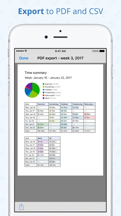 Timelines - Time Tracking screenshot-3