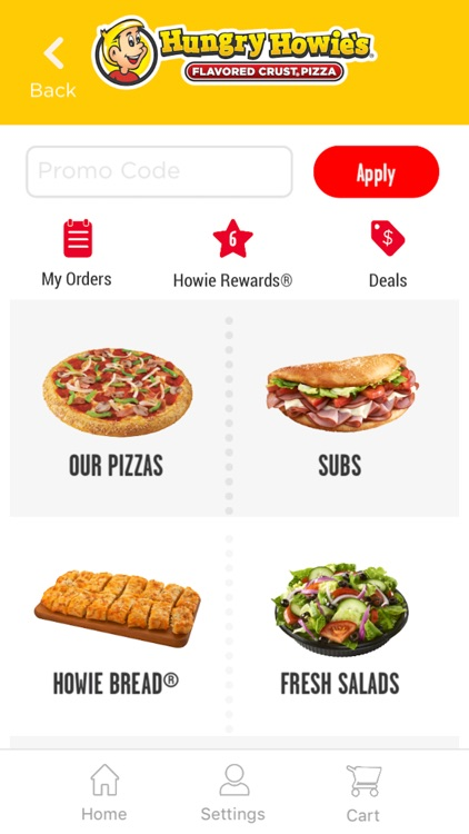 Hungry Howies screenshot-2