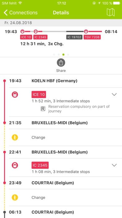 Rail Planner Eurail/Interrail for Windows