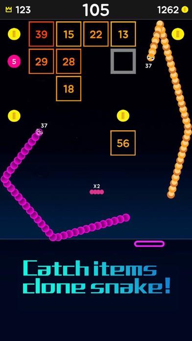 Snake Bricks-Bounce Balls screenshot 6
