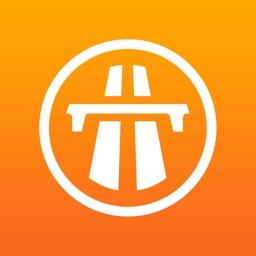 autopistas en ruta