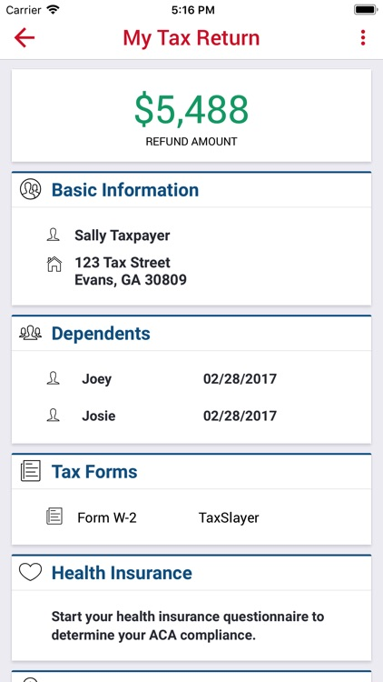 TaxSlayer - File Your Taxes