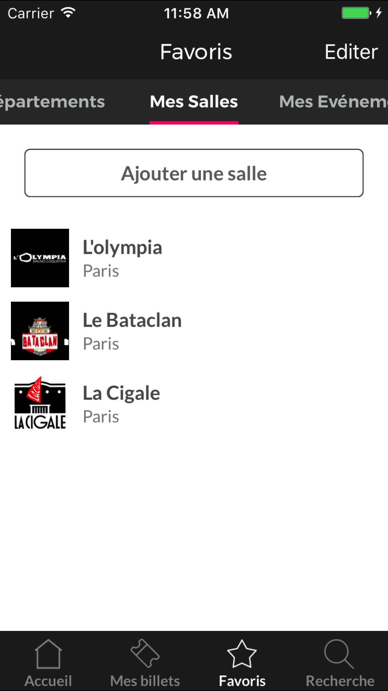 Digitick Screenshot
