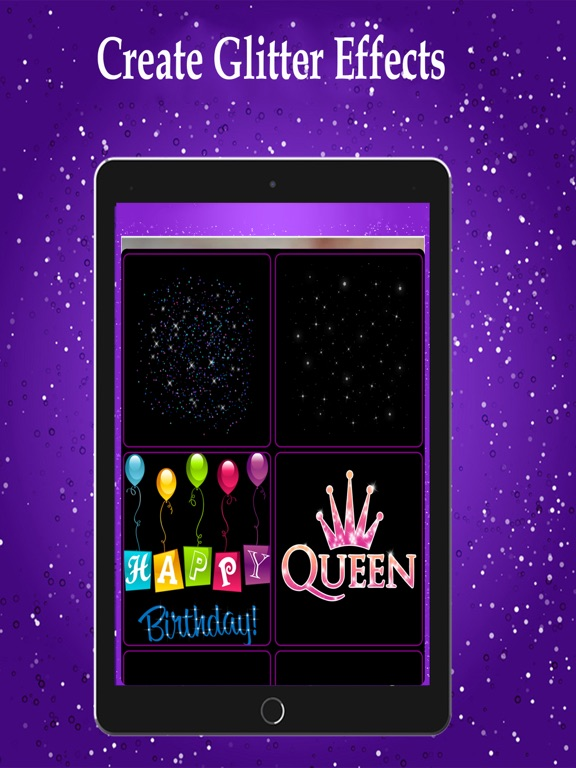 Sparkle Glitter Effects Editor | App Price Drops