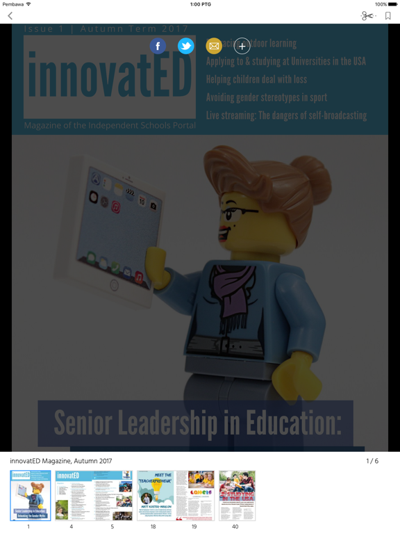 innovatED Magazine screenshot 7