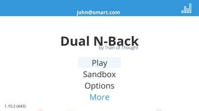 Dual N-Back - Train of Thought screenshot three
