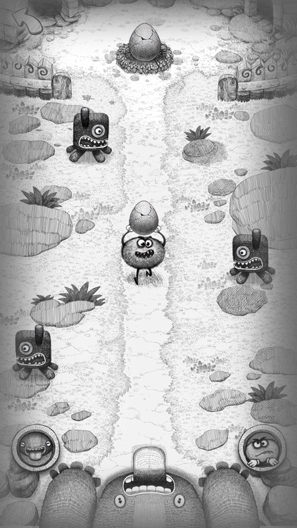 Bad Hungry Monster screenshot-0