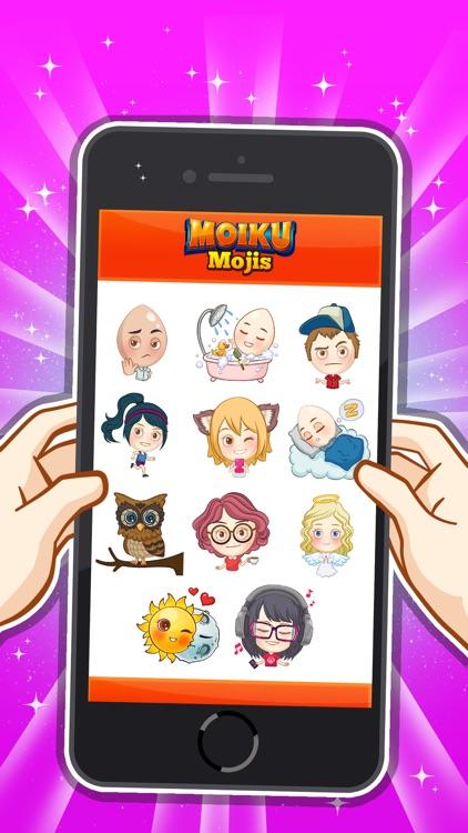 Moiku Mojis screenshot-3