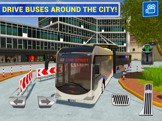 City Bus Driving Sim на iPad