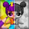 Pixel Dolls Coloring Surprise
