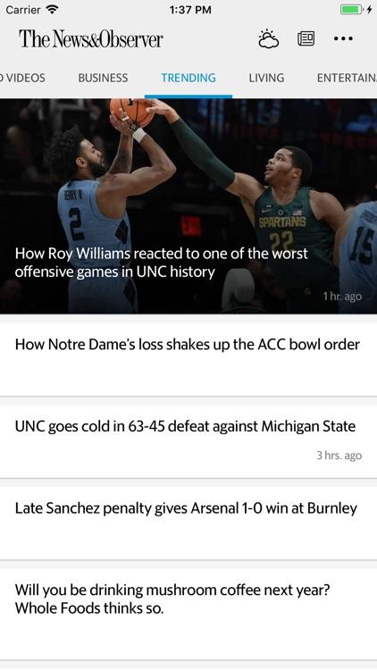 The Raleigh News & Observer screenshot-3