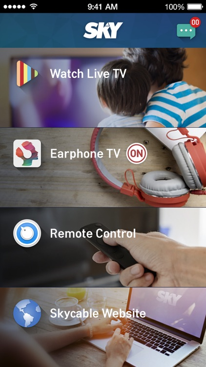 SKY On Demand Box Remote