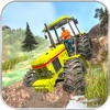 Off-Road Tractor Muddy Driving