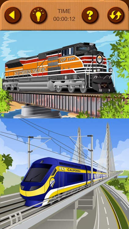 Train Jigsaw Puzzles for Kids screenshot-7