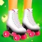 女孩溜冰者 - 这个女孩只有溜冰免费游戏 icon