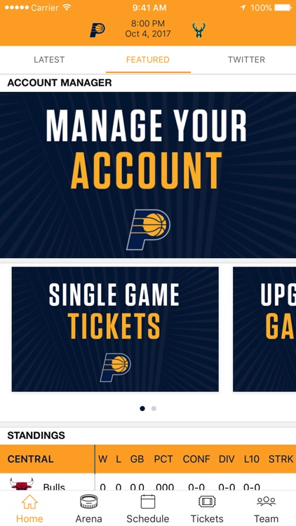 Indiana Pacers Official