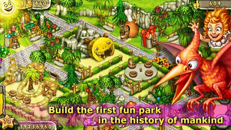 Prehistoric Fun Park Builder screenshot-0
