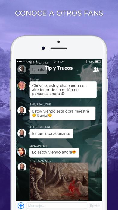 Scrolls Amino en Español screenshot two