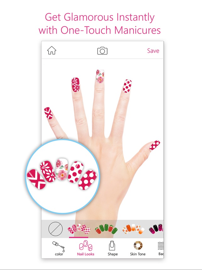 youcam nails manicure salon on the app store