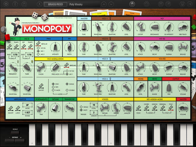 KORG iMono/Poly Screenshot