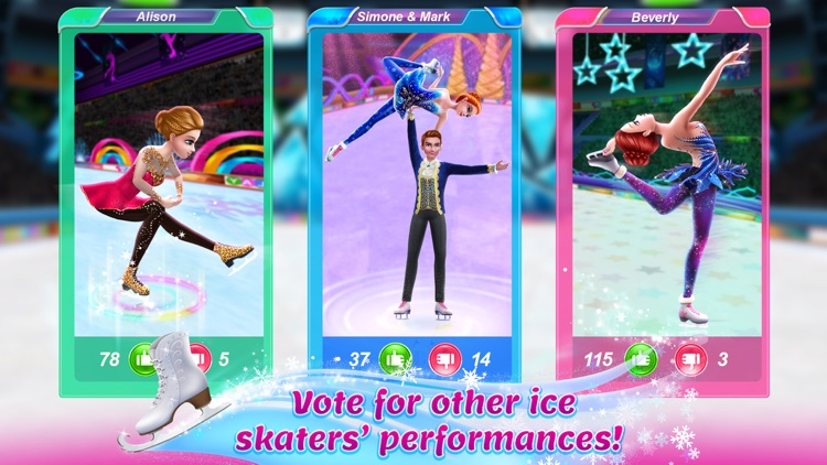 Ice Skating Ballerina screenshot-4