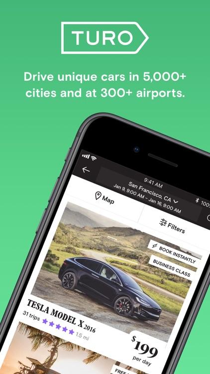 Turo - Better Than Car Rental screenshot-0