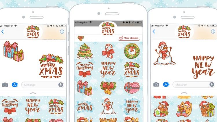 Holidays stickers!