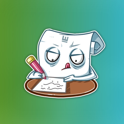 Students Essay Sticker Pack