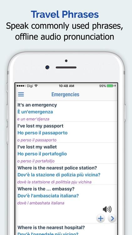Italian Dictionary + screenshot-3