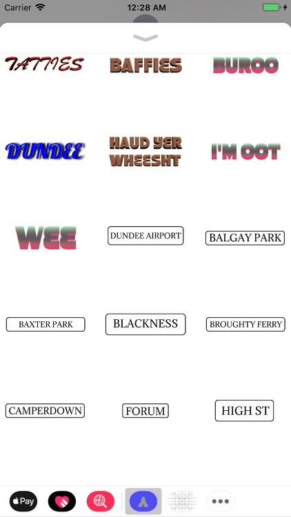 Dundonian Scottish Stickers