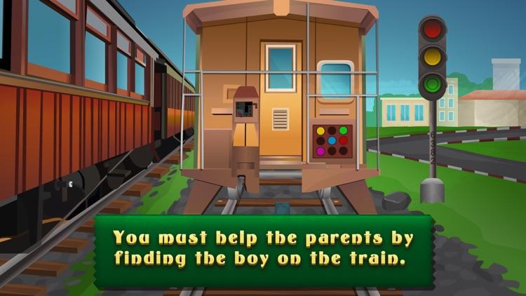 Escape Boy In Train - start a brain challenge screenshot-3
