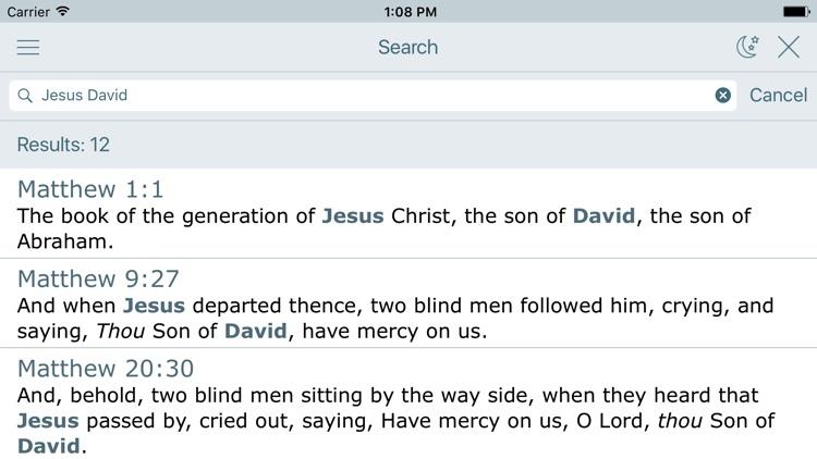 New King James Version Bible screenshot-3