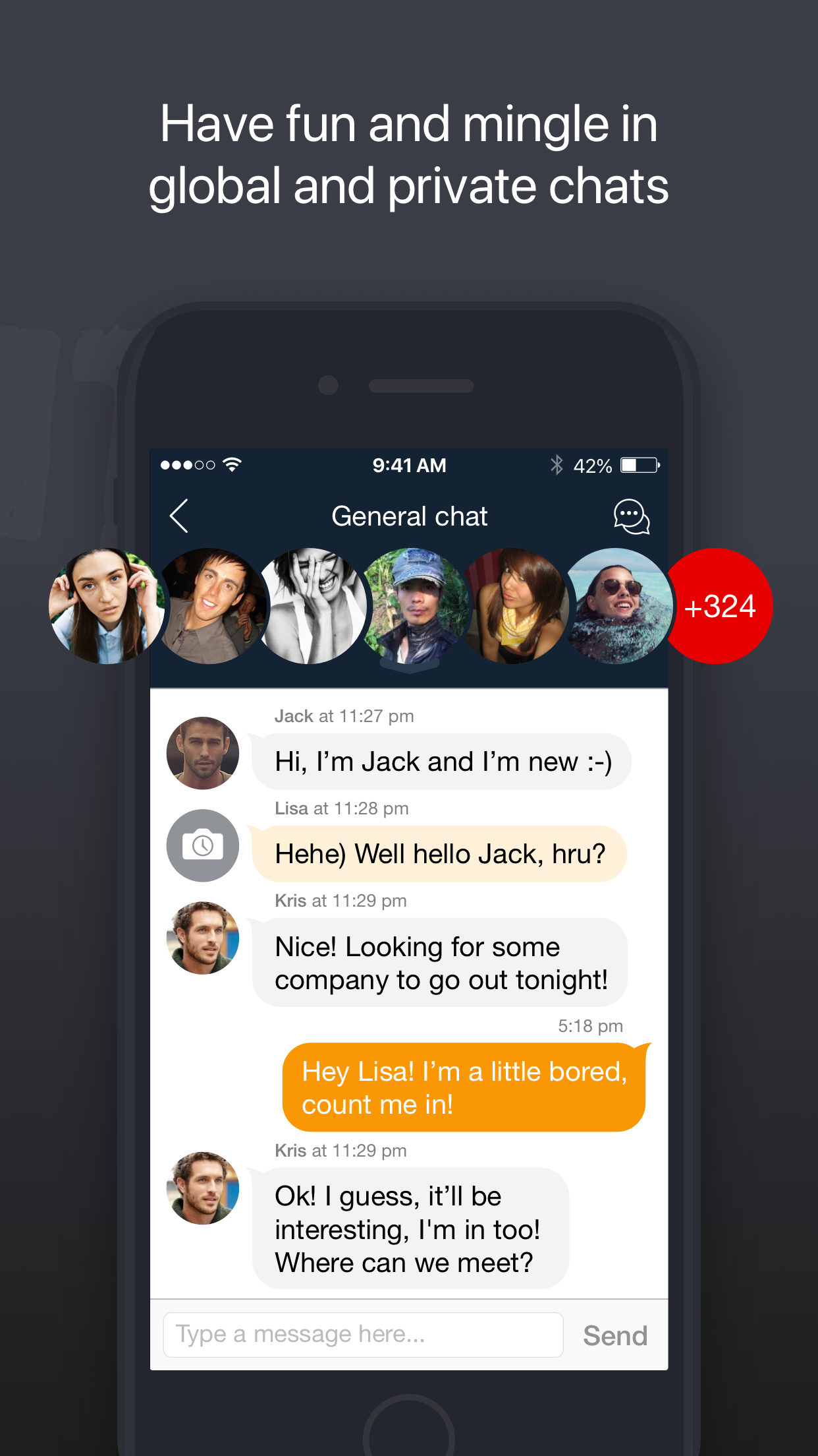 UpForIt: dating for singles Screenshot