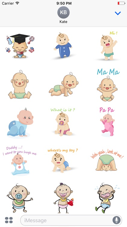 Funny Baby emoji