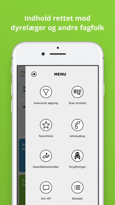 Screenshot for MedicinTilDyr in Denmark App Store