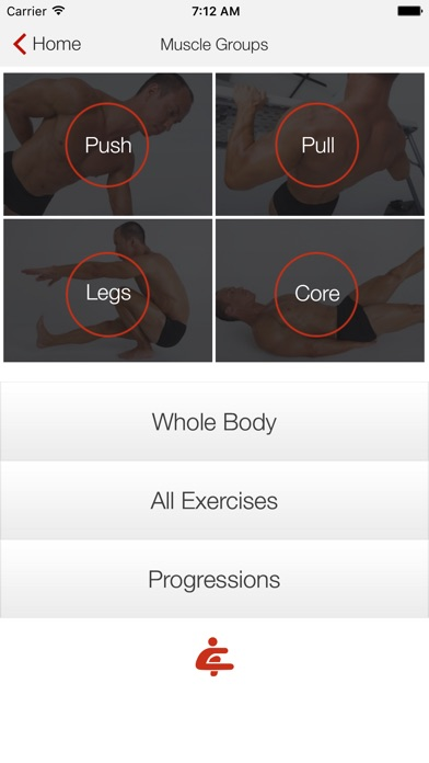 Screenshot for Bodyweight: Your Own Gym in United Kingdom App Store