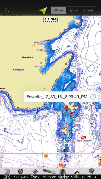 Ligurian GPS Nautical Charts screenshot-3