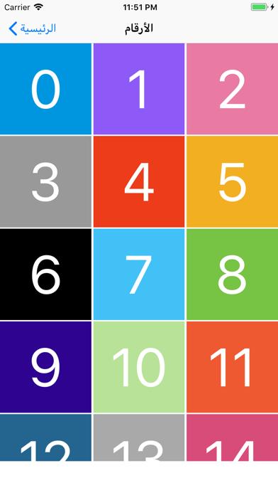 تعلم الحروف والأرقام الانجليزي screenshot 5