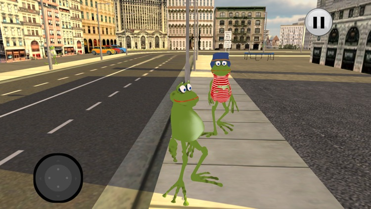 Amazing Frog Simulator City screenshot-4